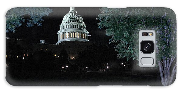 Galaxy Case - Light In The Capitol by Frank Savarese