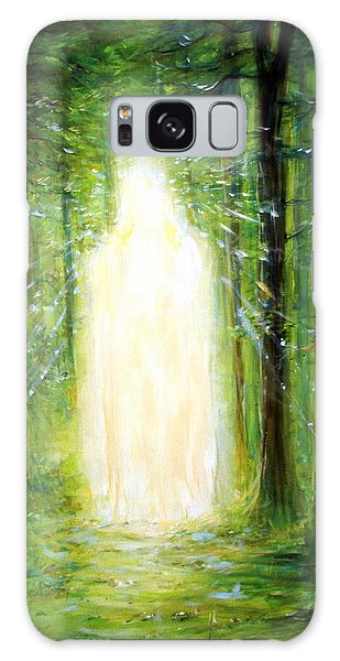 Light In The Garden Galaxy Case