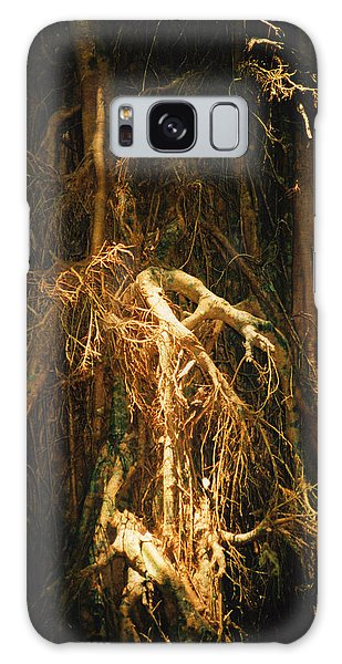 Light Roots Galaxy Case by Evelyn Tambour