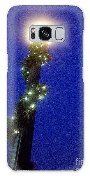 Light Up The Holidays Galaxy Case