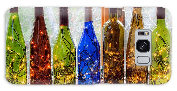 Lighted Wine Bottles Galaxy Case