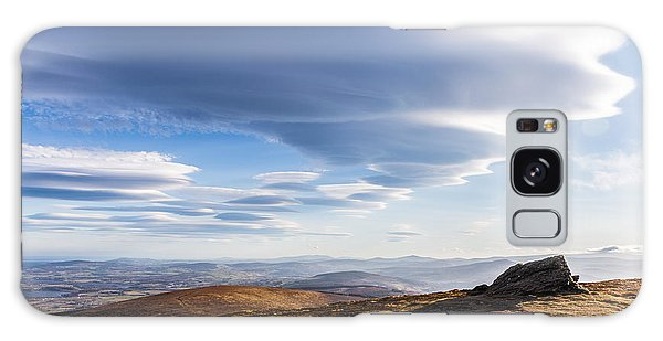 Lightfall On Djouce Mountain Summit Galaxy Case by Semmick Photo