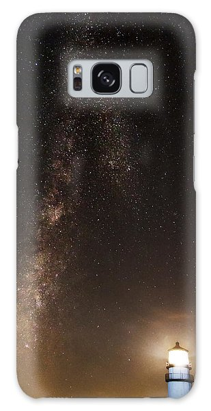 Lighthouse And Milky Way Galaxy Case