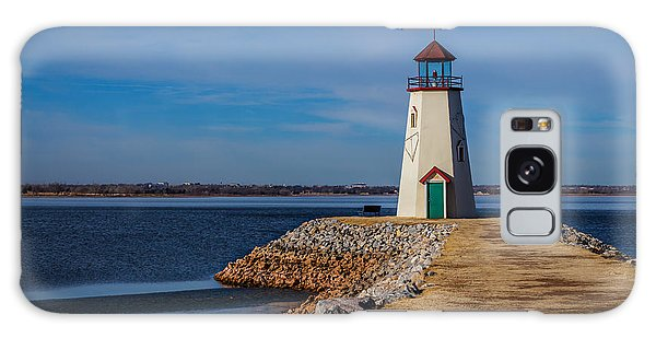 Lighthouse At East Wharf Galaxy Case by Doug Long
