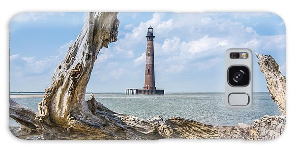Lighthouse At Folly Beach Galaxy Case