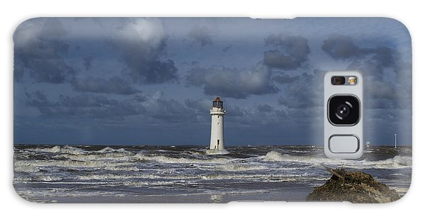 lighthouse at New Brighton Galaxy Case by Spikey Mouse Photography