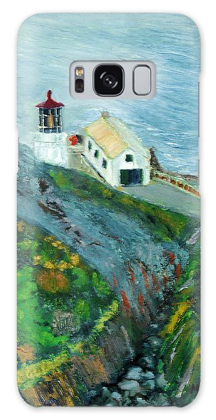 Lighthouse At Point Reyes California Galaxy Case