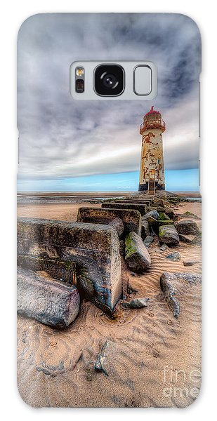 Lighthouse At Talacre  Galaxy Case by Adrian Evans