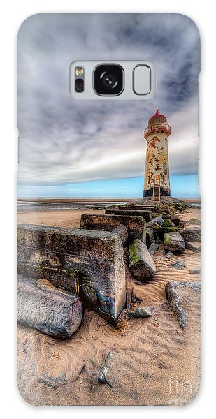 Lighthouse At Talacre  Galaxy Case