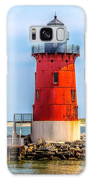 Lighthouse At The Delaware Breakwater Galaxy Case