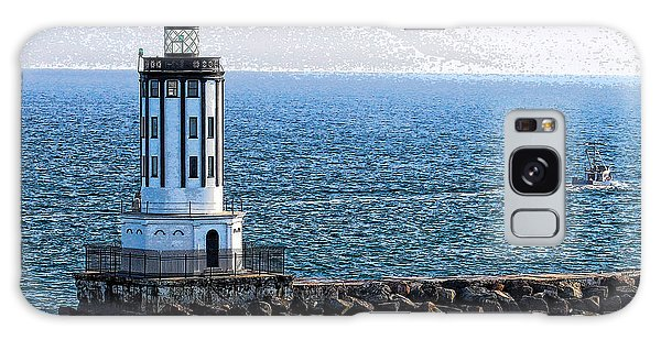 Lighthouse At The Port Of Los Angeles Galaxy Case