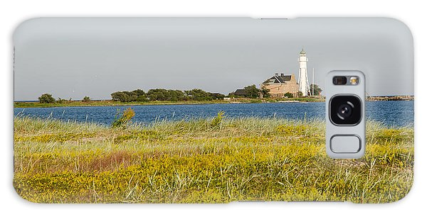 Lighthouse At Yellow Coast Galaxy Case