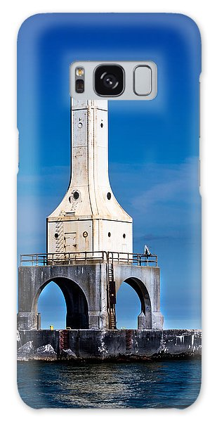 Lighthouse Blues Vertical Galaxy Case