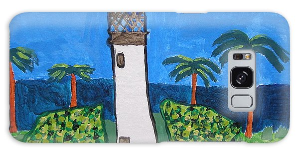 Lighthouse Galaxy Case by Artists With Autism Inc