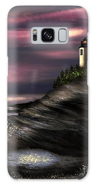 Lighthouse Galaxy Case by Dale   Ford
