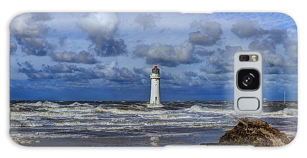 Lighthouse Galaxy Case by Spikey Mouse Photography