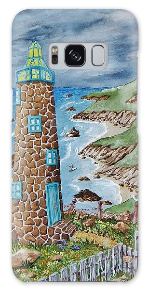 Lighthouse Galaxy Case by Katherine Young-Beck