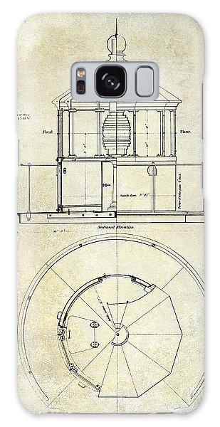 Blueprint Galaxy Case - Lighthouse Lantern Order Blueprint Antique by Jon Neidert