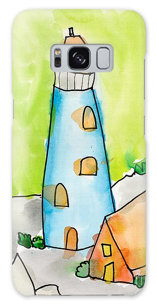 Lighthouse Galaxy Case