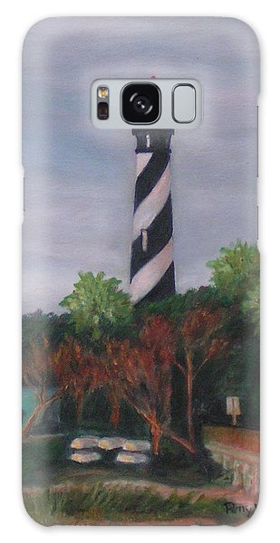 Lighthouse Morning Galaxy Case