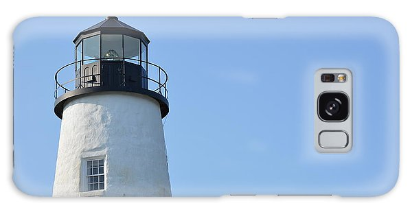 Lighthouse On Clear Day Galaxy Case