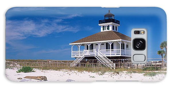 Lighthouse On The Beach, Port Boca Galaxy Case by Panoramic Images