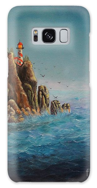 Lighthouse Point Galaxy Case