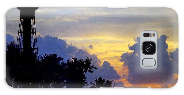 Lighthouse Point Sunrise 2 Galaxy Case