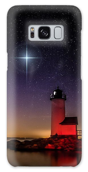 Lighthouse Star To Wish On Galaxy Case by Jeff Folger