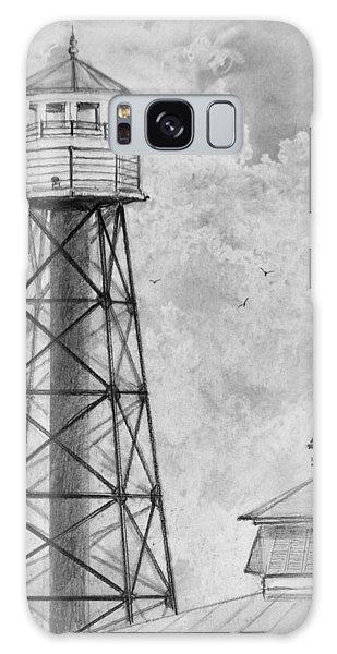 Lighthouse Sumter Landing Galaxy Case by Jim Hubbard