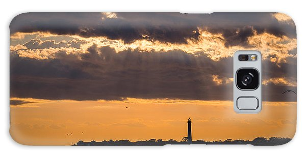 Cape May Galaxy Case - Lighthouse Sun Rays by Michael Ver Sprill