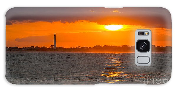 Cape May Galaxy Case - Lighthouse Sun Reflections by Michael Ver Sprill