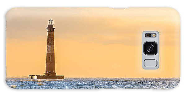 Lighthouse Sunrise Galaxy Case