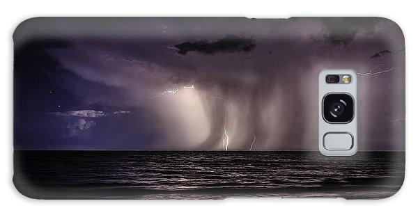 Lightning And Rain Galaxy Case