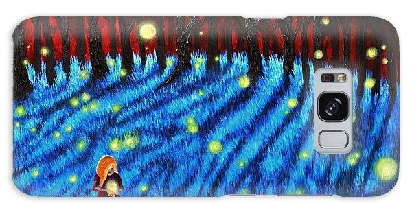 Lightning Bugs Galaxy Case