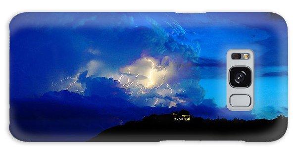 Blue Thunder Galaxy Case
