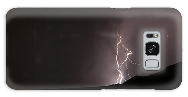Lightning On The Hill. Galaxy Case