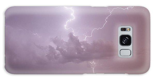 Lightning Over Cheyenne Bottoms Galaxy Case