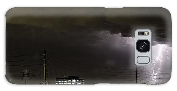 Galaxy Case featuring the photograph Lightning Over Las Vegas 2 by James Sage