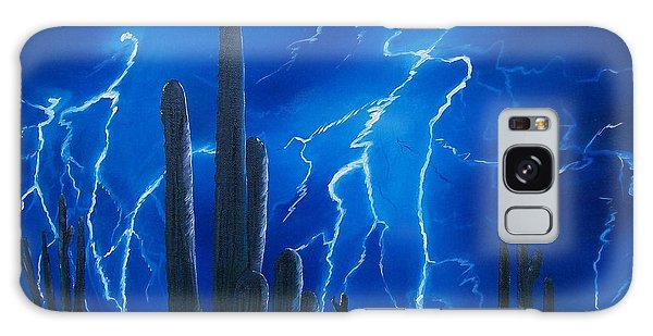 Lightning  Over The Sonoran Galaxy Case