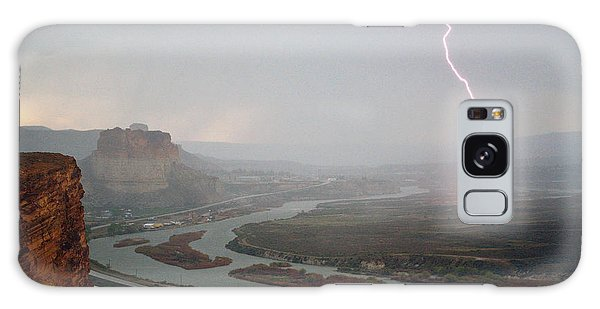 Lightning Strike Near Green River Galaxy Case