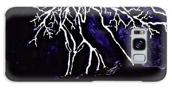 Abstract Lightning Galaxy Case