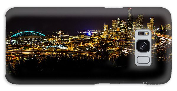Lights Of Seattle Galaxy Case