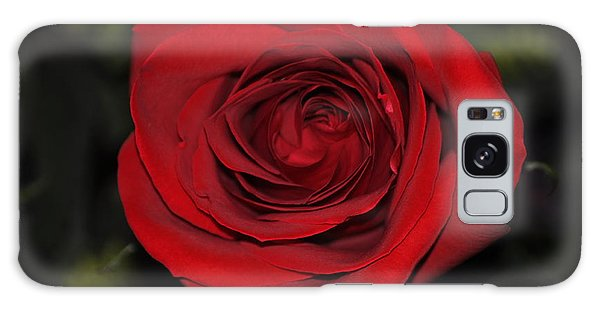 Like A Red Rose Galaxy Case