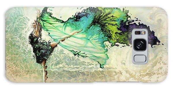 Ballerina Galaxy Case - Like Air I Will Raise by Karina Llergo