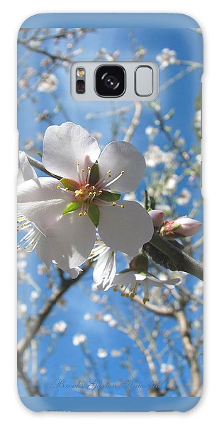 Like Stars In The Sky - Almond Blossoms Of Spring Galaxy Case by Brooks Garten Hauschild
