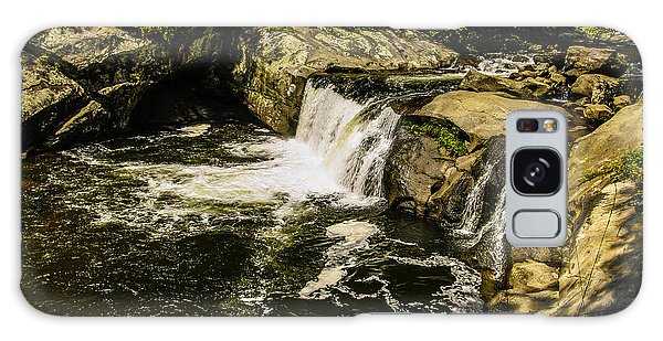 Lil Bald River Falls Galaxy Case by Marilyn Carlyle Greiner