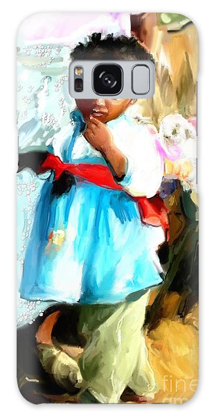 Lil Girl  Galaxy Case by Vannetta Ferguson