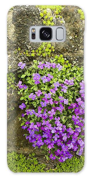 Lilac Bush Galaxy Case by Gary Slawsky