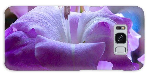 Lilac Flower Galaxy Case